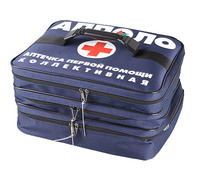 Аптечка первой помощи на 100 человек (сумка 330х250х250мм)