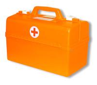 Комплект медицинский  для школьных автобусов (пластиковый чемодан)