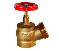 Клапан КПЛ 50-1, латунь, угловой